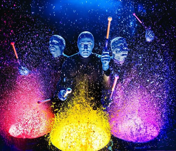 Шоу Blue Man Group в Москве
