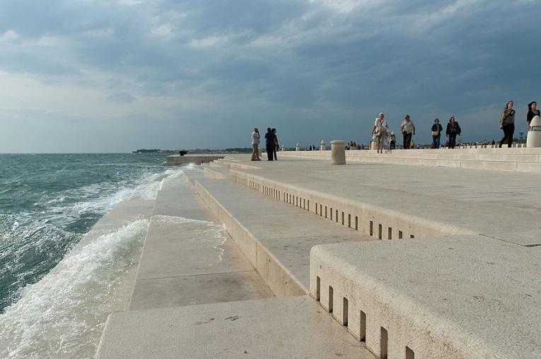 В Хорватии построили 80-метровый орган, на котором «играет» море