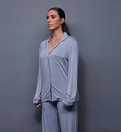 Ким Кардашьян презентовала коллекцию домашней одежды