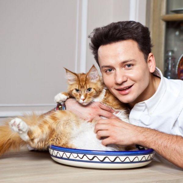 Александр Олешко рассказал о своих домашних питомцах