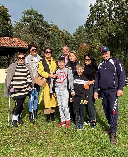 Анна Нетребко отдохнула на итальянской ферме