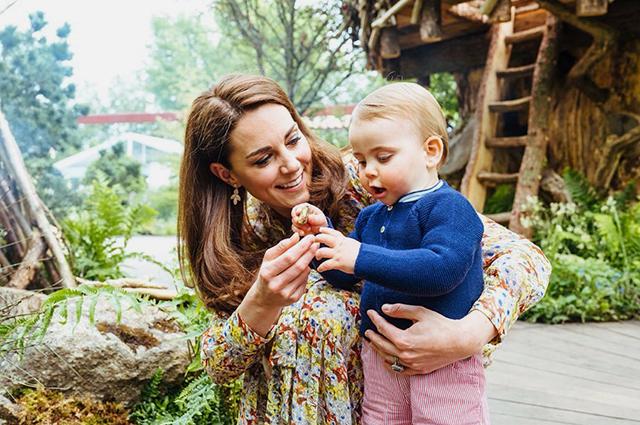 Кейт Миддлтон дала интервью о материнстве